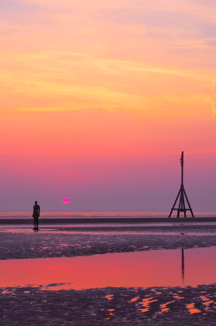 Anthony Gormley's Another Place - Crosby Beach