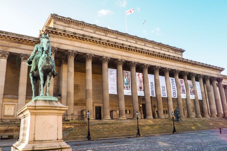 St George's Hall in Liverpool