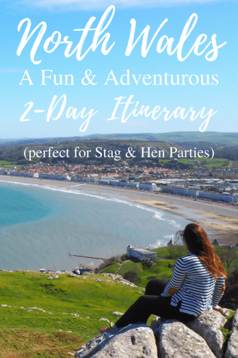 North Wales Adventure Itinerary - Hen & Stag Do