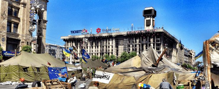 Kiev - 2014 Ukraine Revolution