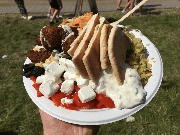 Glastonbury Food