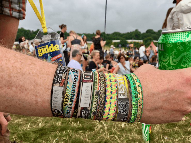 Glastonbury Wristbands