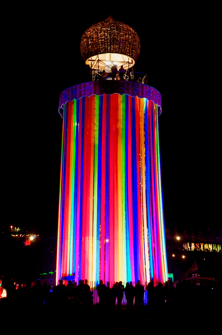 Rainbow Tower Glastonbury