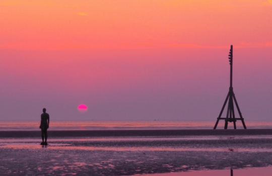 Iron Men Crosby Beach