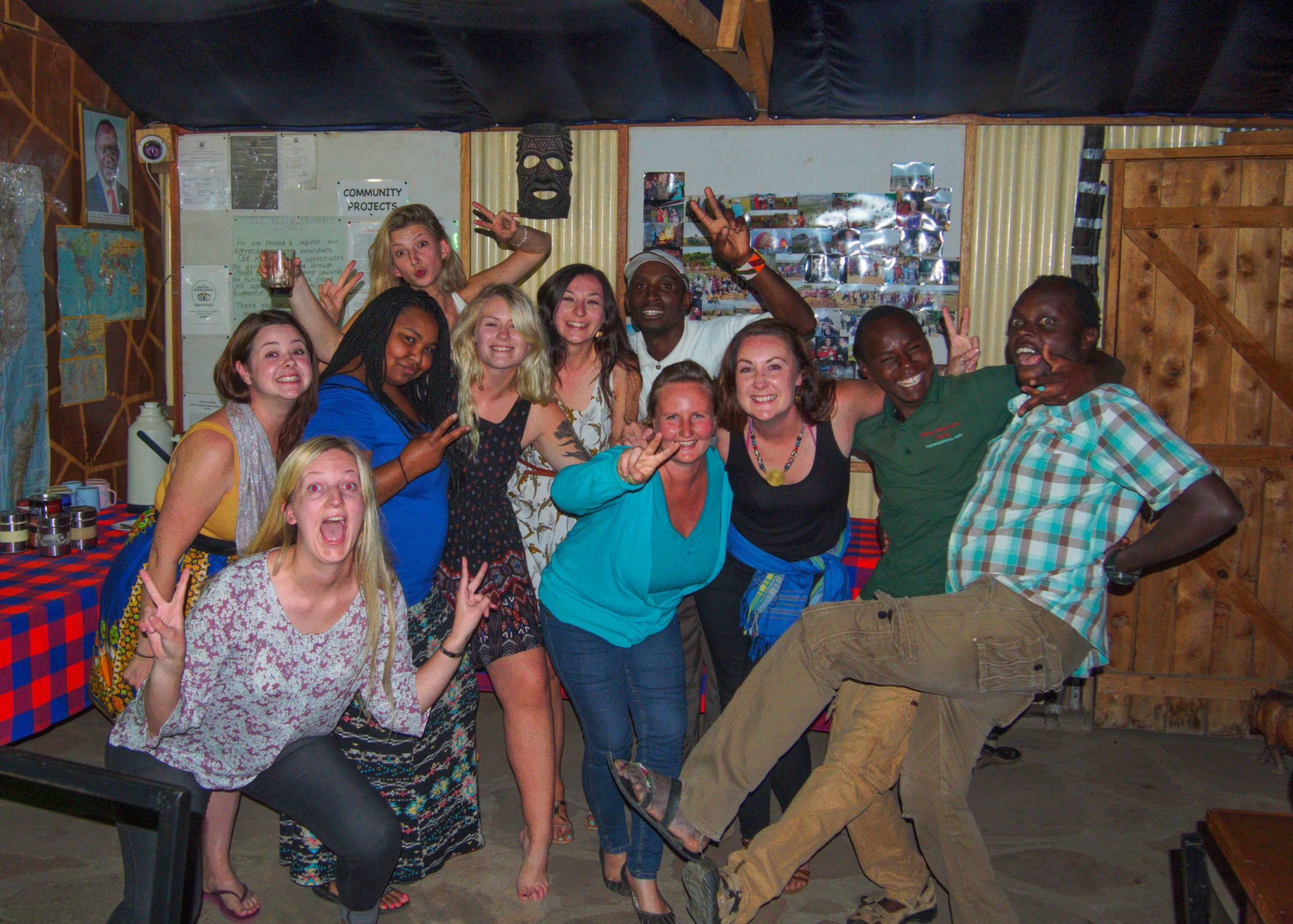 Party time in the Masai Mara