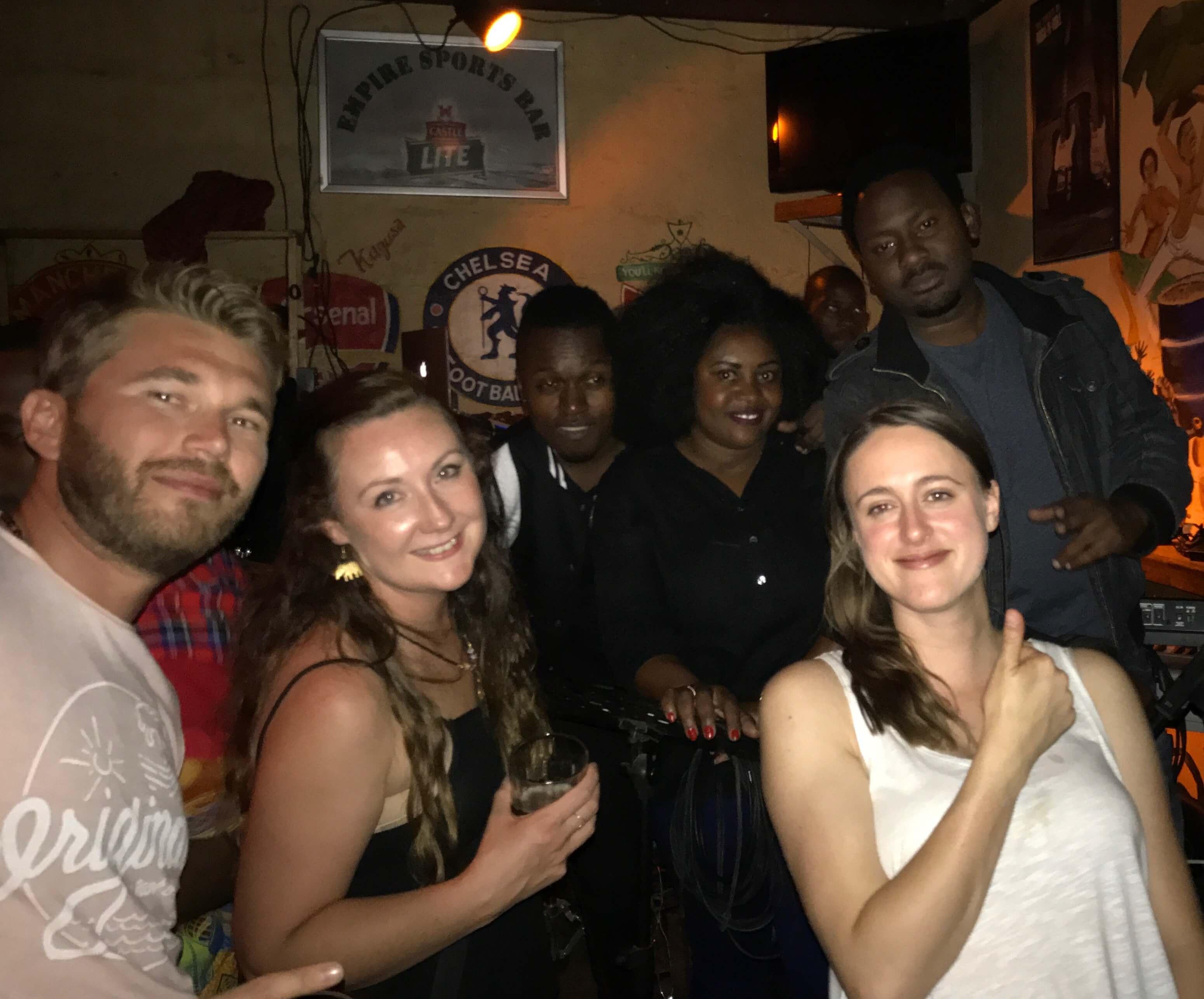 Elements bar, Arusha, Tanzania.