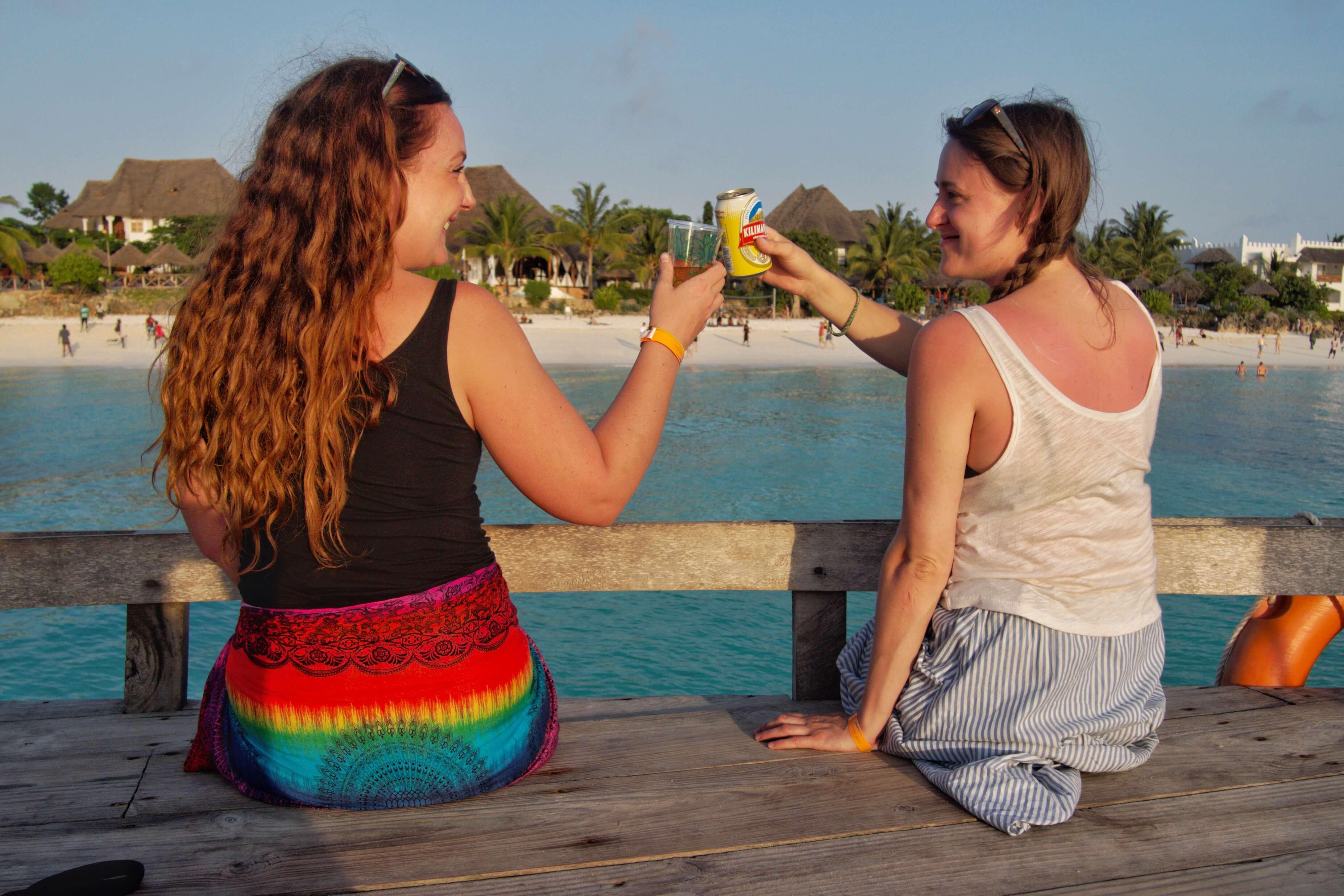Sundowners in Zanzibar