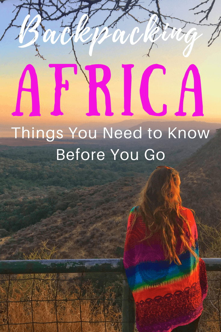 Backpacking Africa Advice