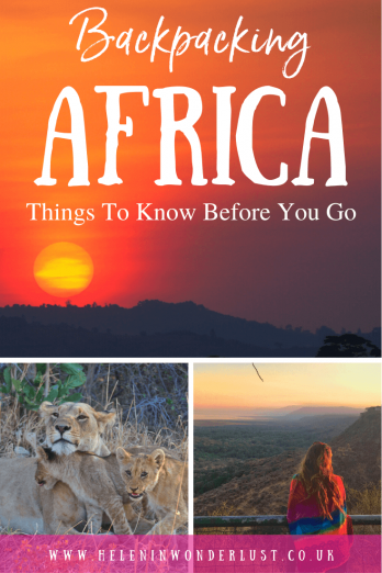 Backpacking Africa - Things To Know Before You Go