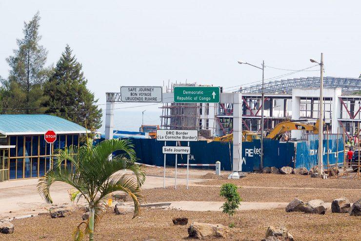 DRC Rwanda La Corniche Border