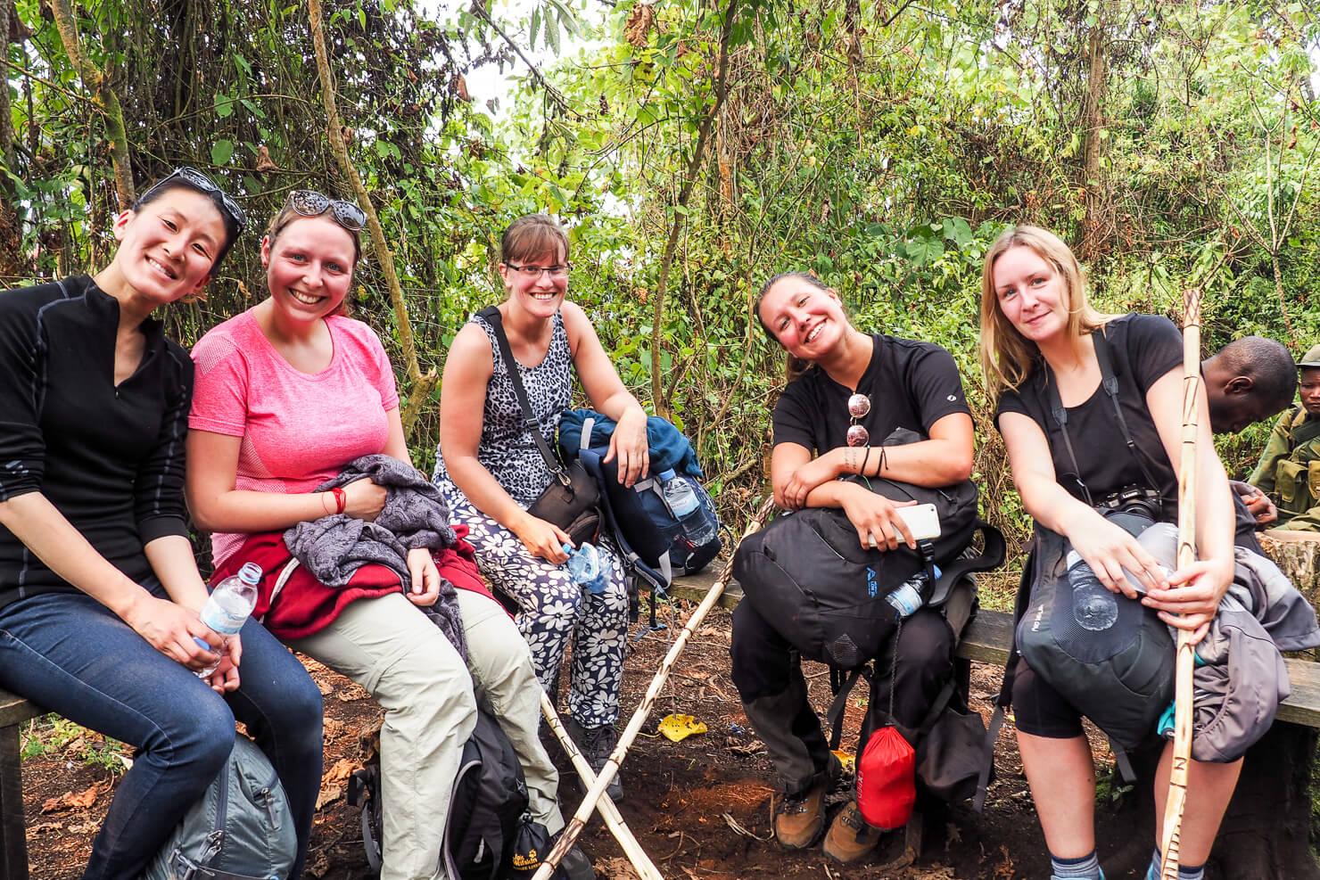 Climbing Mount Nyiragongo
