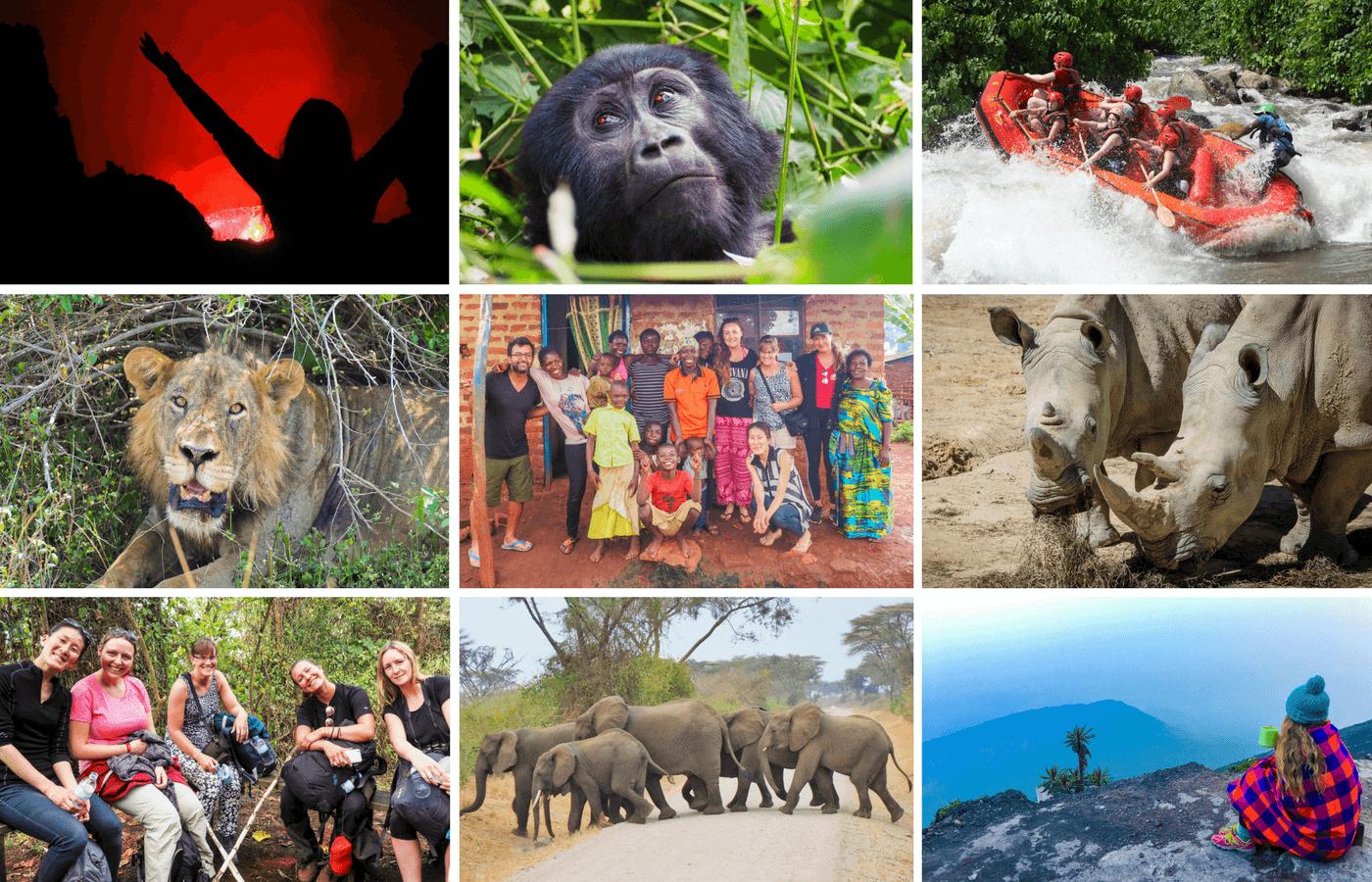 Uganda Rwanda & DRC Tour