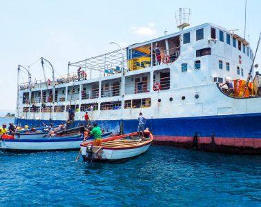 The Ilala Ferry on Lake Malawi
