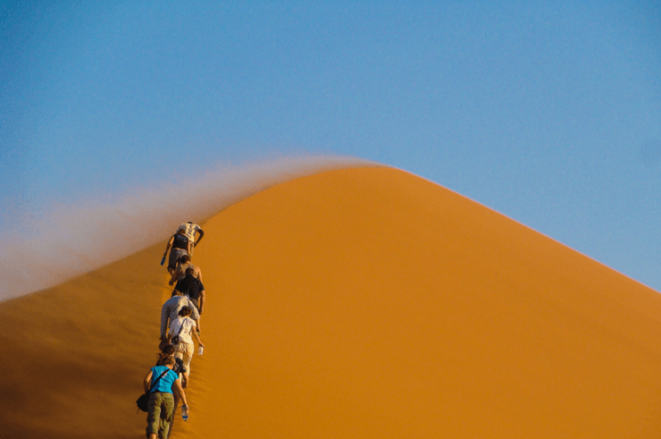 Sand Dunes, Sossusvlei - Things To Do in Namibia