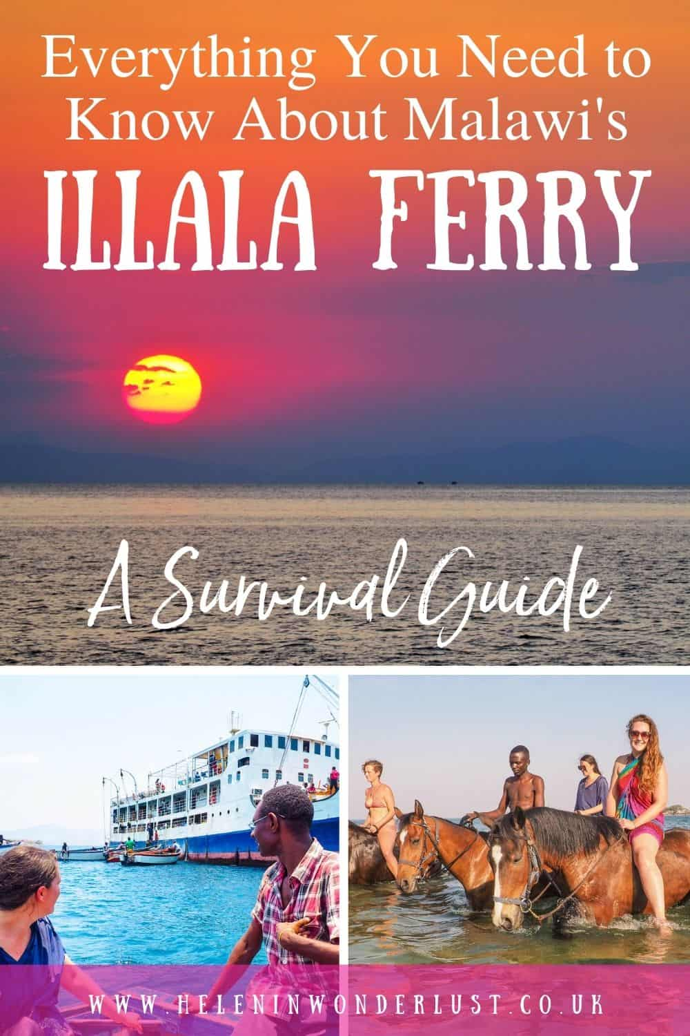 Everything You Need to Know About Malawi's Ilala Ferry