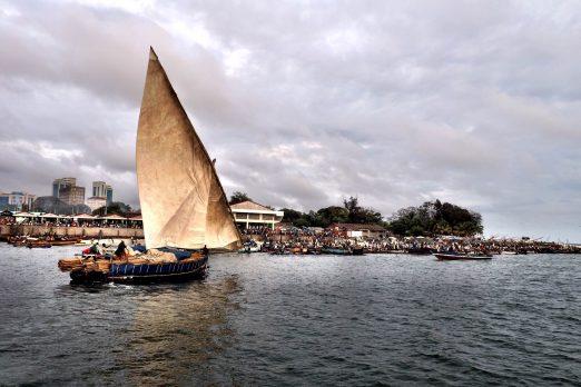 Traditional Dhow, Dar es Salaam, Tanzania