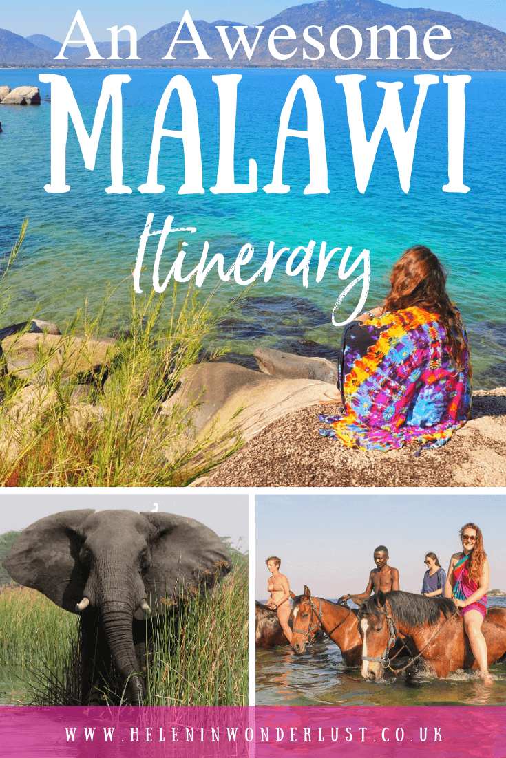 An epic Malawi Itinerary including where to go, where to stay and things to do!
