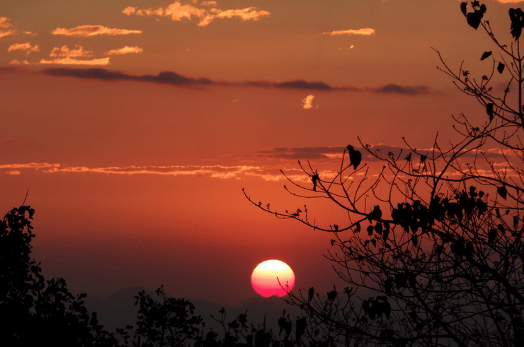 Sunset in Blantyre Malawi
