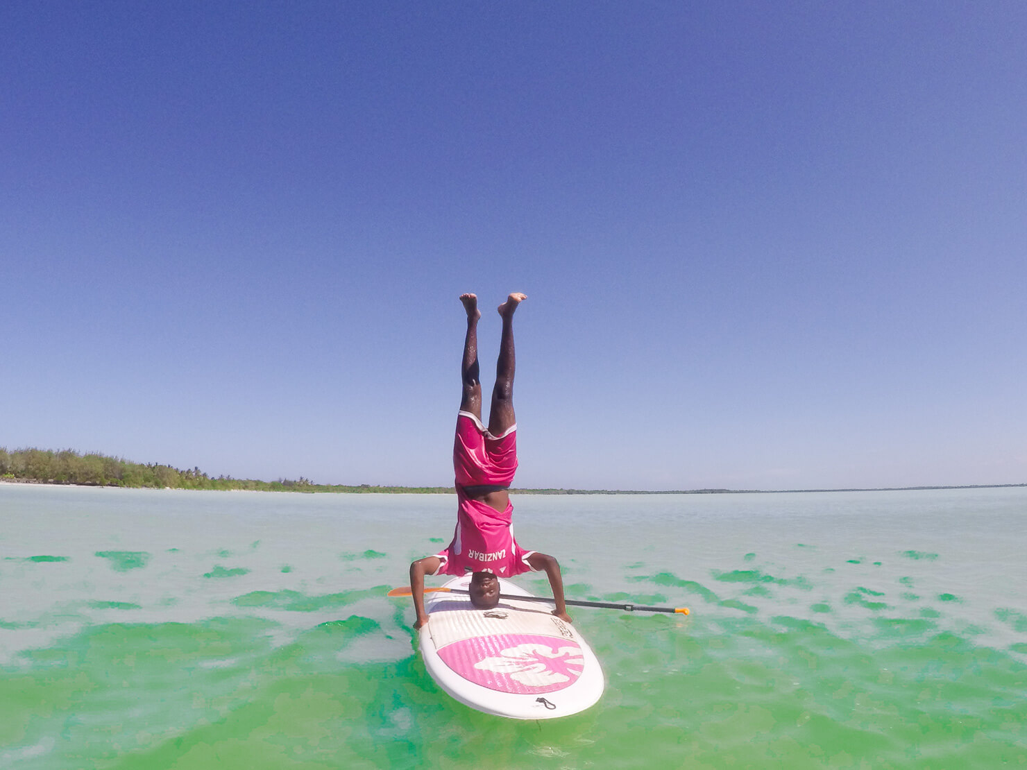 Stand Up paddle Boarding Zanzibar - Rock My Adventure