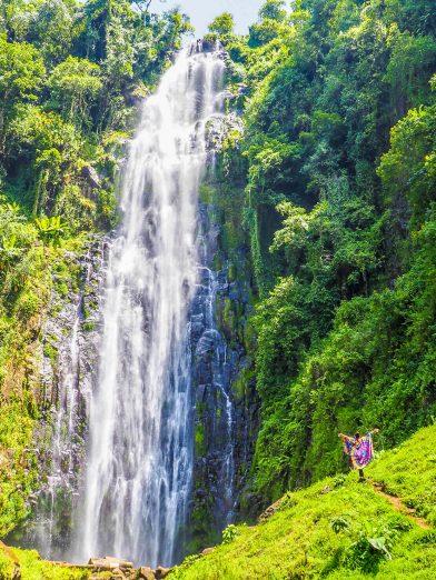 Materuni waterfall in Moshi, Tanzania