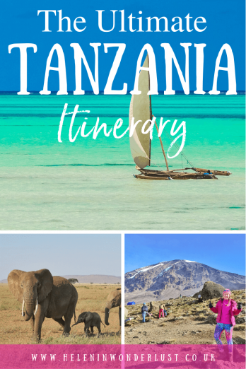 The Ultimate Tanzania Itinerary - The Ultimate Tanzania Itinerary - An incredible 2-week Tanzania Itinerary including where to go, where to stay and things to do! From safari in the Serengeti, to Mount Kilimanjaro and the beaches of Zanzibar. Here's how to maximise your time in Tanzania.