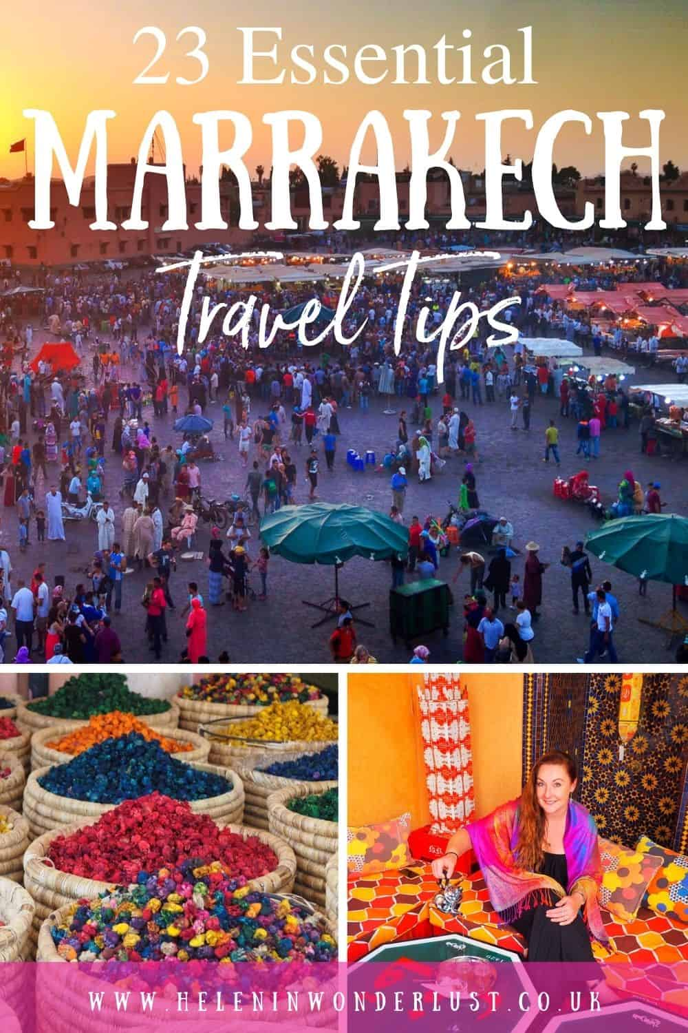 23 Essential Marrakech Travel Tips