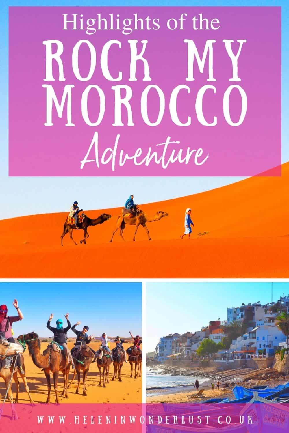 Highlights of the Rock My Morocco Adventure