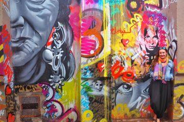 Street art in Marrakech