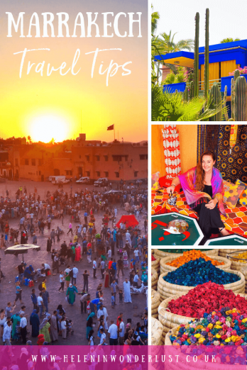 Marrakech is a fabulous city, but it is chaotic and can be intimidating when you visit for the first time, so here are my top tips for Marrakech! Including what to expect, where to go, what to do, how to dress, how to find your way around and how to handle the medina.