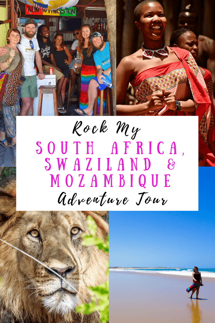 Join us on a 2-week, small group, African adventure tour in South Africa, Swaziland & Mozambique. Including Kruger National Park, Johannesburg, Mlilwane Wildlife Sanctuary, Maputo and beautiful Tofo.
