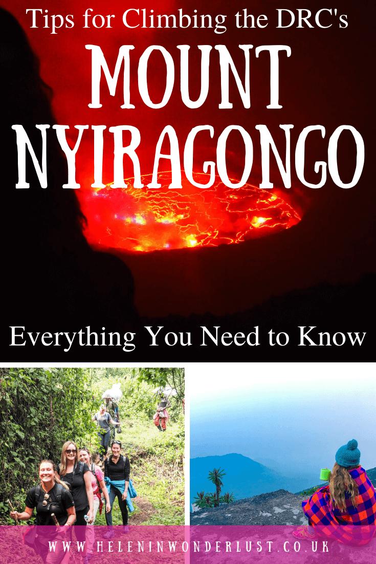 Climbing Mount Nyiragongo in the Democratic Republic of the Congo (DRC)