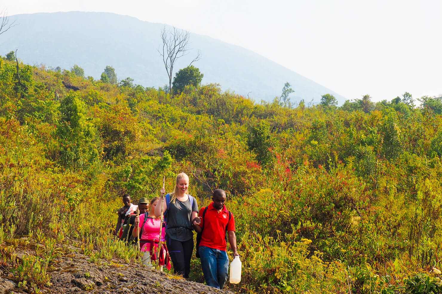 Climbing Mount Nyiragongo in the Democratic Republic of the Congo (DRC)