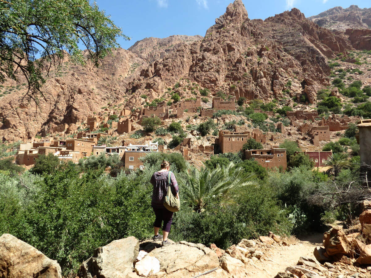 Hiking Ameln Valley Morocco
