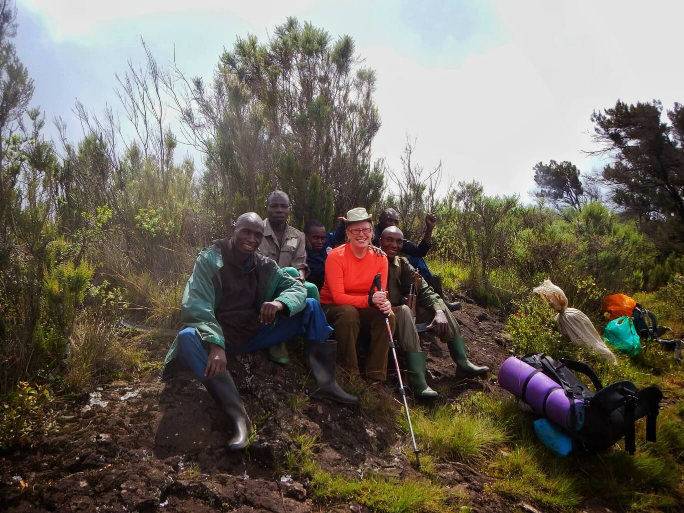 Hiking Mount Elgon Uganda