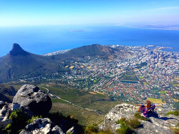 Hiking Table Mountain in South Africa