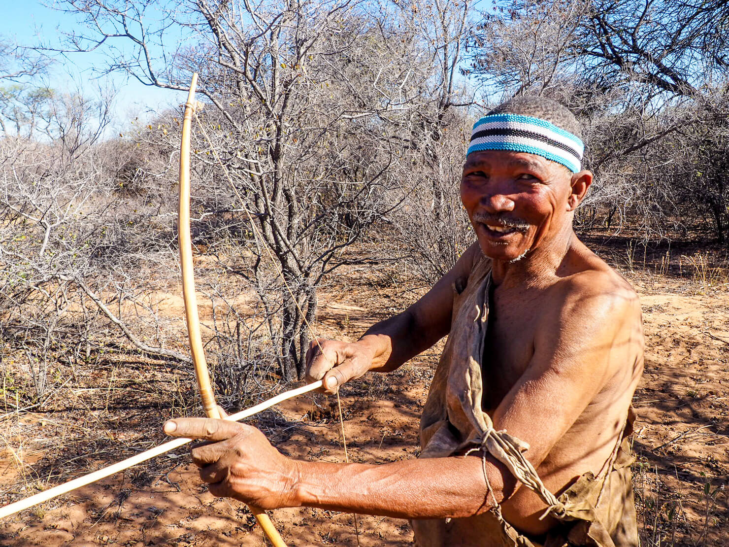 San People Dqae Qare San Lodge Botswana