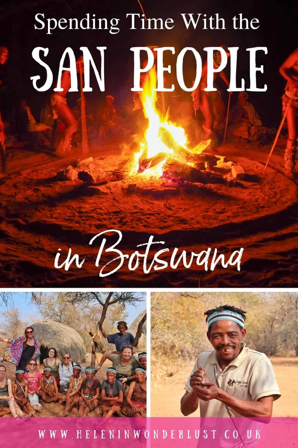 Spending Time with the San People in Botswana