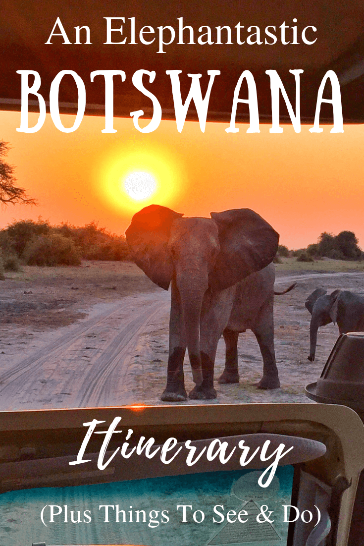 Botswana Itinerary