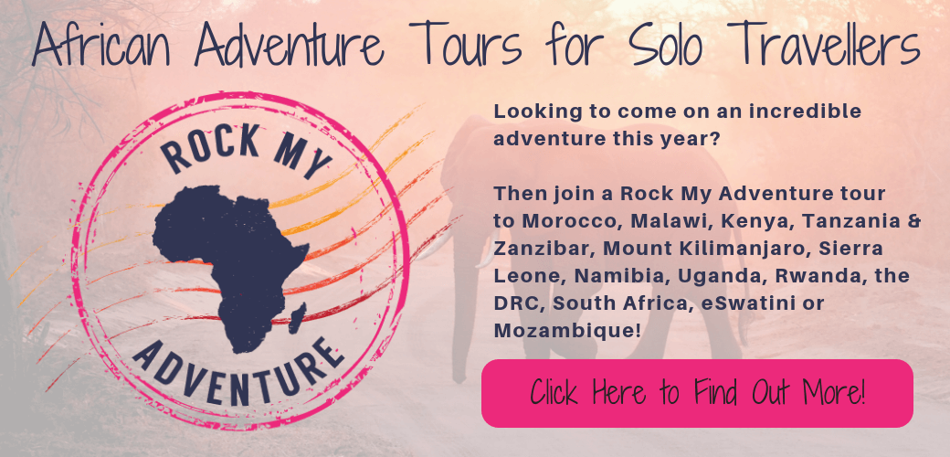 African Adventure Tours for Solo Travellers