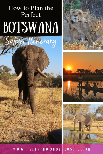 The perfect 2-week Botswana itinerary with safari suggestions! Main highlights include: Chobe National Park & the Okavango Delta.