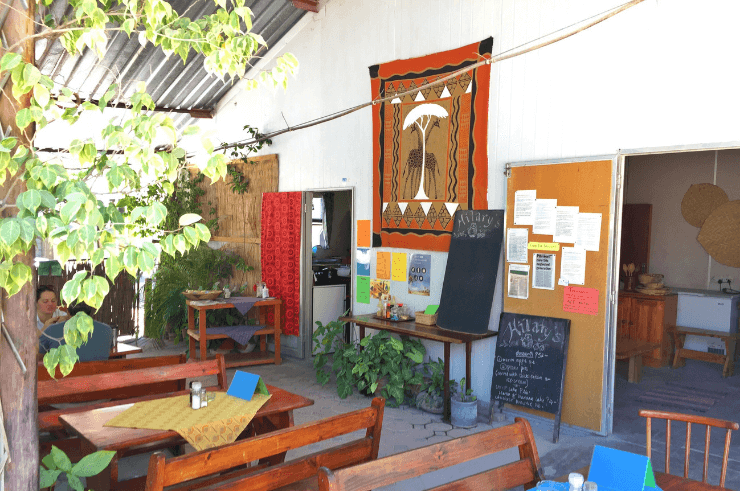 Hilary's Cafe in Maun