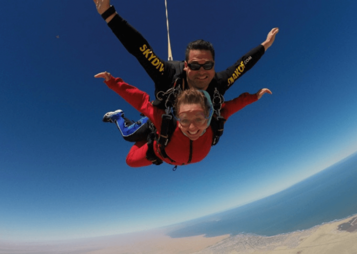 Skydiving, Swakopmund, Namibia - Things To Do in Namibia