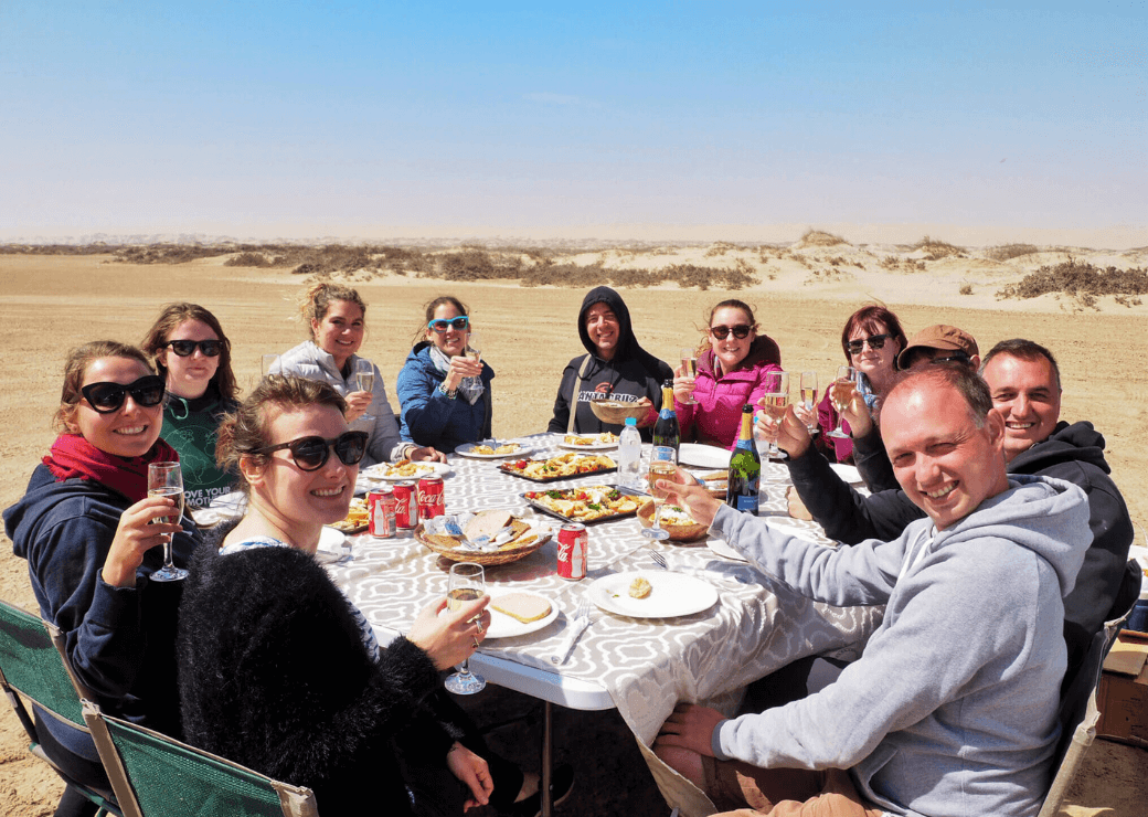 Desert Lunch, Namibia
