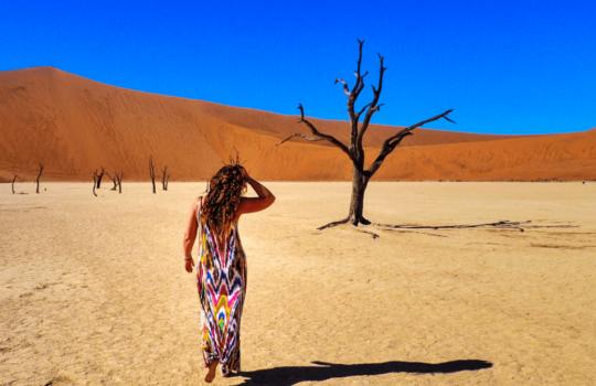 Sossusvlei, Namibia - Helen in Wonderlust