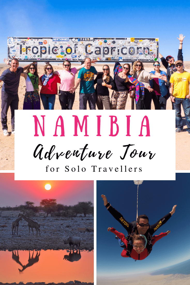 Namibia Adventure Tour for Solo Travellers
