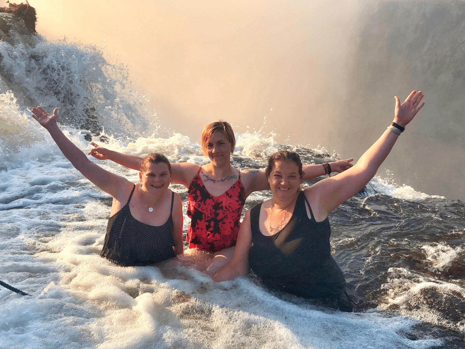 Angel's Pool, Zambia