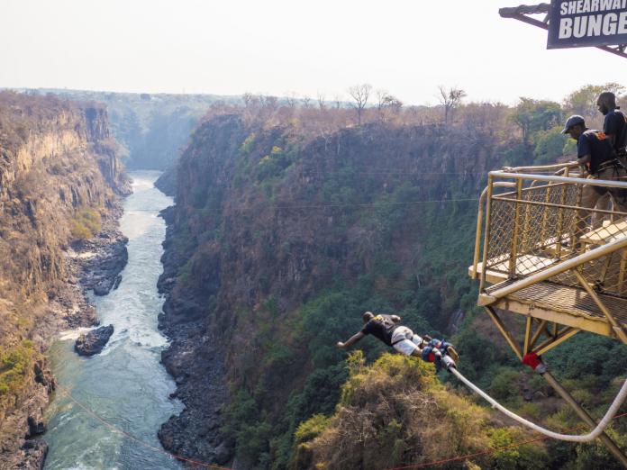 Bungee Jump Livingstone Zambia