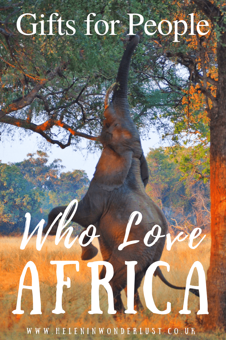 Gifts for People Who Love Africa