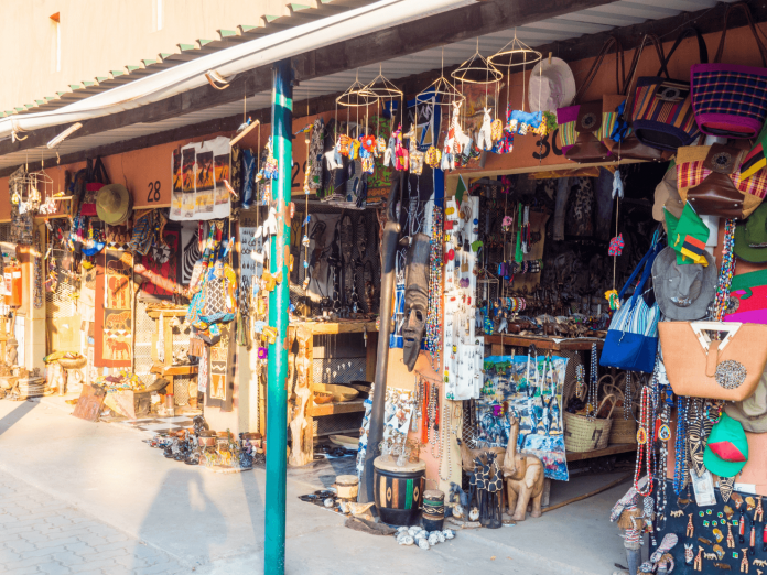 Curio Market Livingstone Zambia