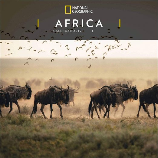 National Geographic Africa Calendar 2019